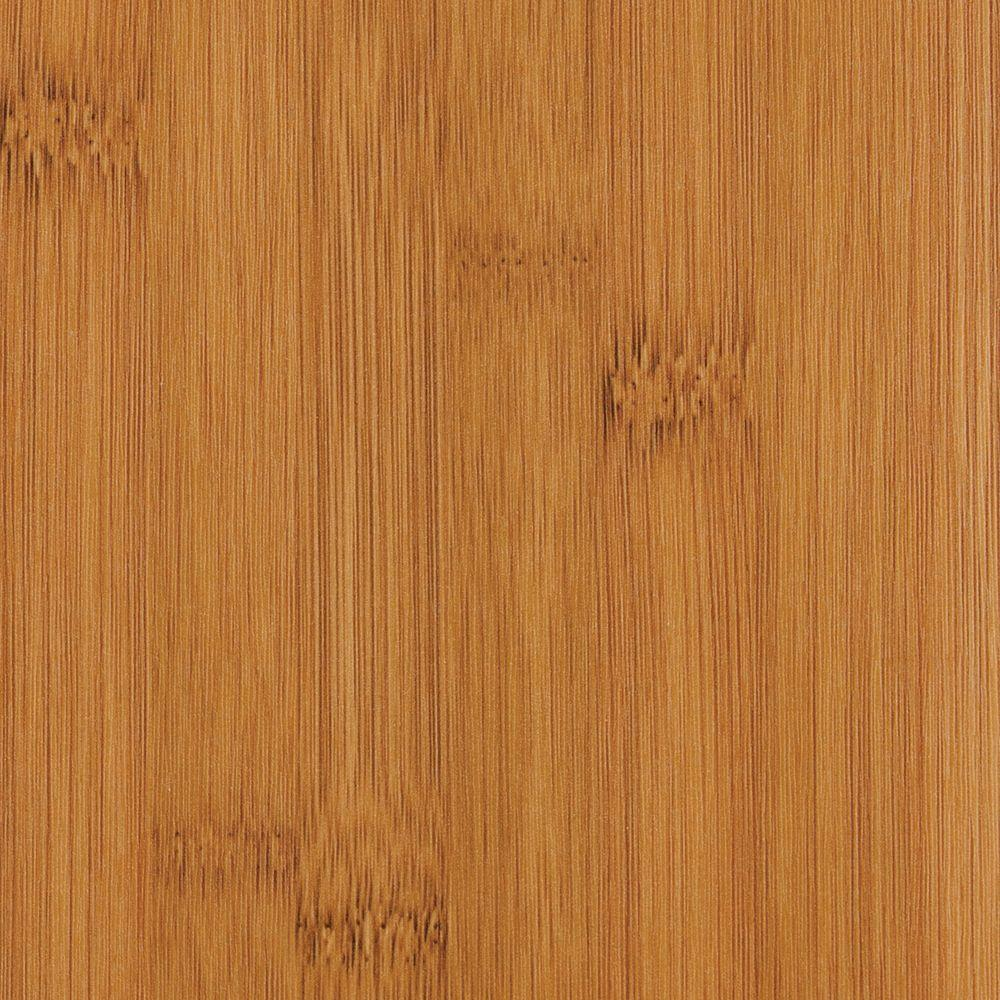 Hampton bay hayside bamboo 8 mm thick x 5 5 8 in wide x for Square laminate flooring