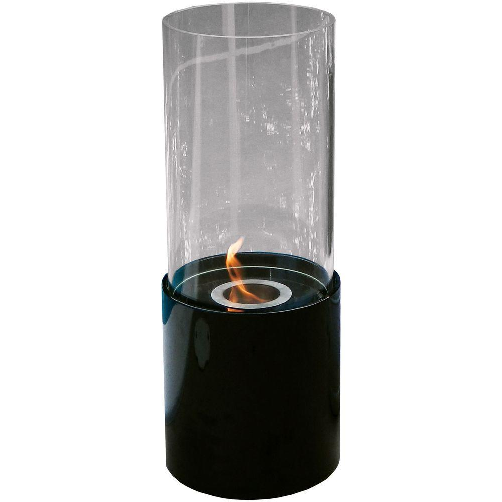 Real flame chateau 41 in corner ventless gel fuel for Alcohol gel fireplace