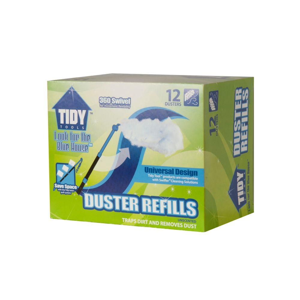Tidy Tools Duster Pad Refills (12-Count)