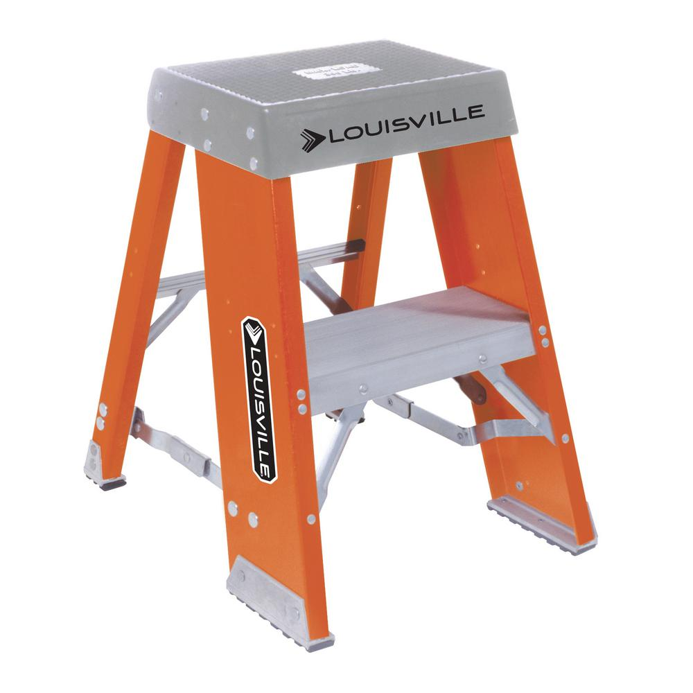 2 ft. Fiberglass Step Stand with 300 lbs. Load Capacity Type
