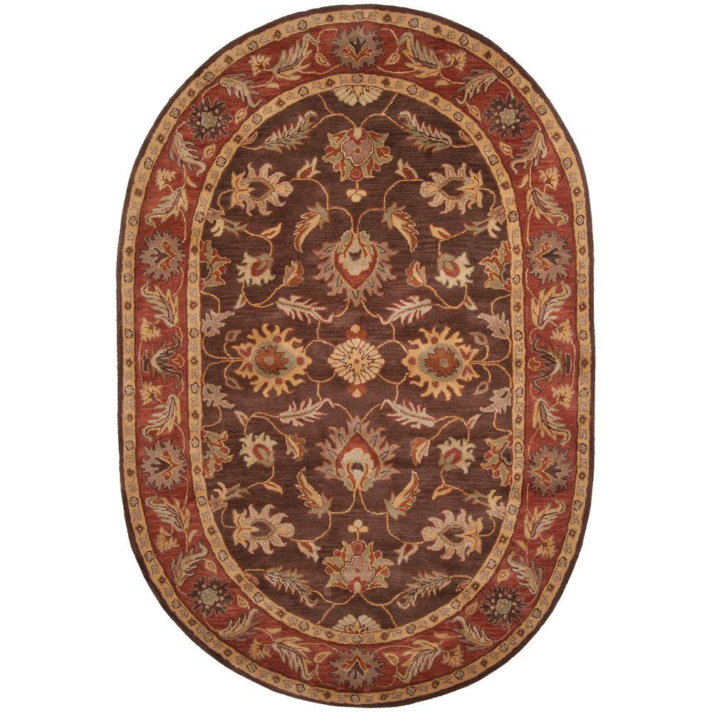 Artistic Weavers John Brown 6 ft. x 9 ft. Oval Area Rug