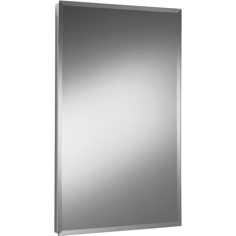 null Galena 16 in. W x 20 in. H x 4.5 in. D Recessed Medicine Cabinet-DISCONTINUED