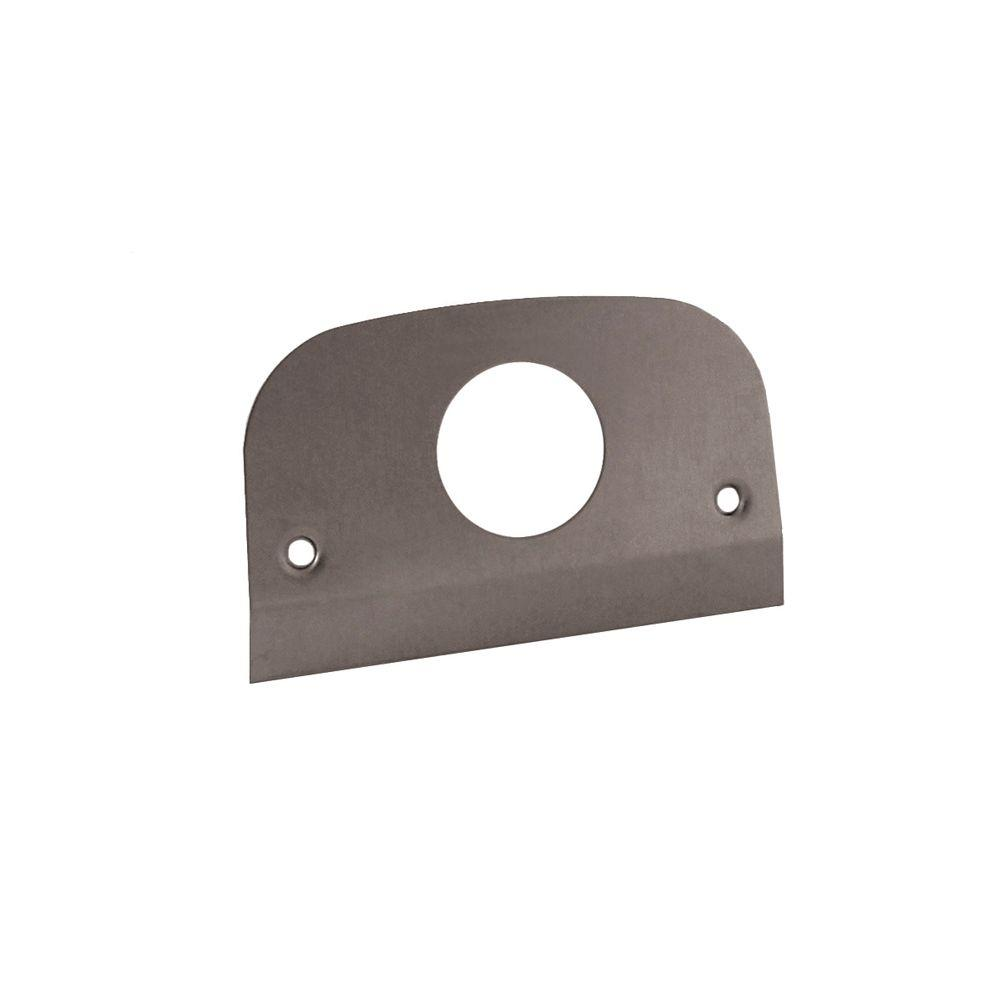 null Service Pedestal Single Receptacle Face Plate