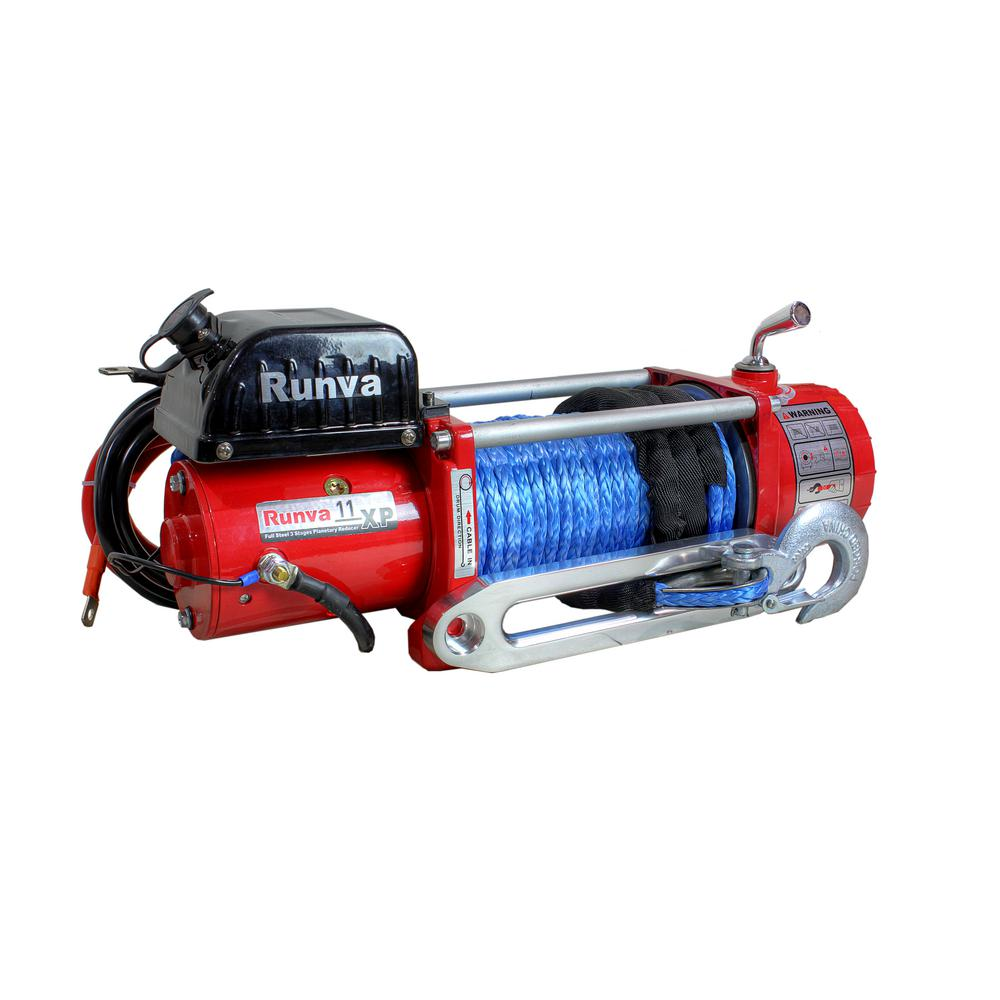 11,000 lbs. Capacity 12-Volt Wireless Off-Road Electric Winch with 85 ft.