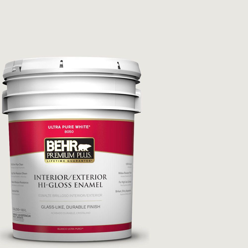 5-gal. #BWC-30 Diamonds Therapy Hi-Gloss Enamel Interior/Exterior Paint