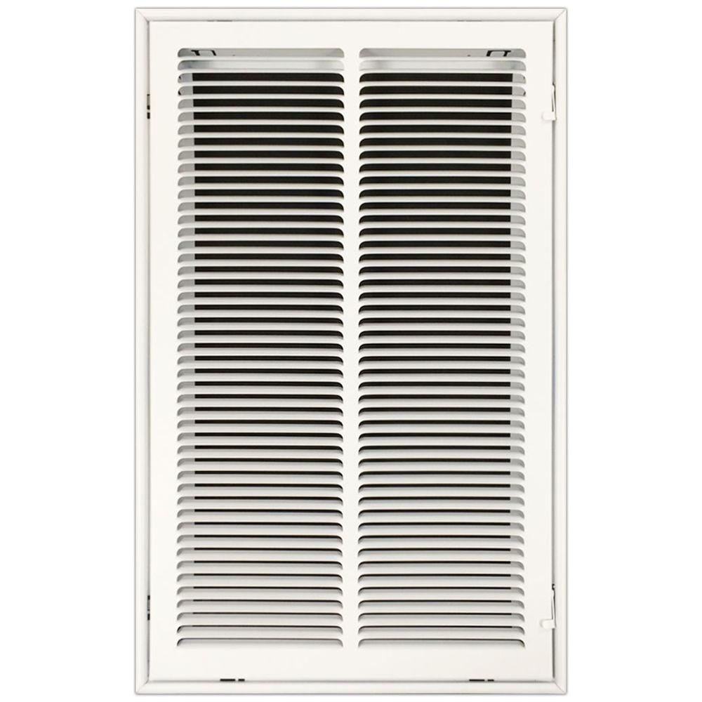 SPEEDI-GRILLE 14 in. x 25 in. Return Air Vent Filter Grille