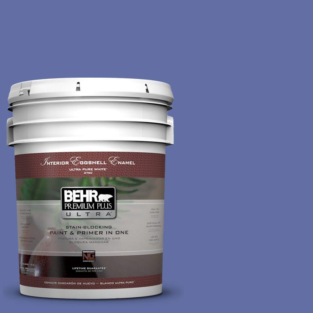 BEHR Premium Plus Ultra 5-gal. #610B-6 Stained Glass Eggshell Enamel Interior Paint