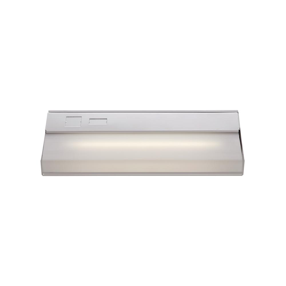 Signature 12 in. White Under Cabinet Light with White Opal Shade
