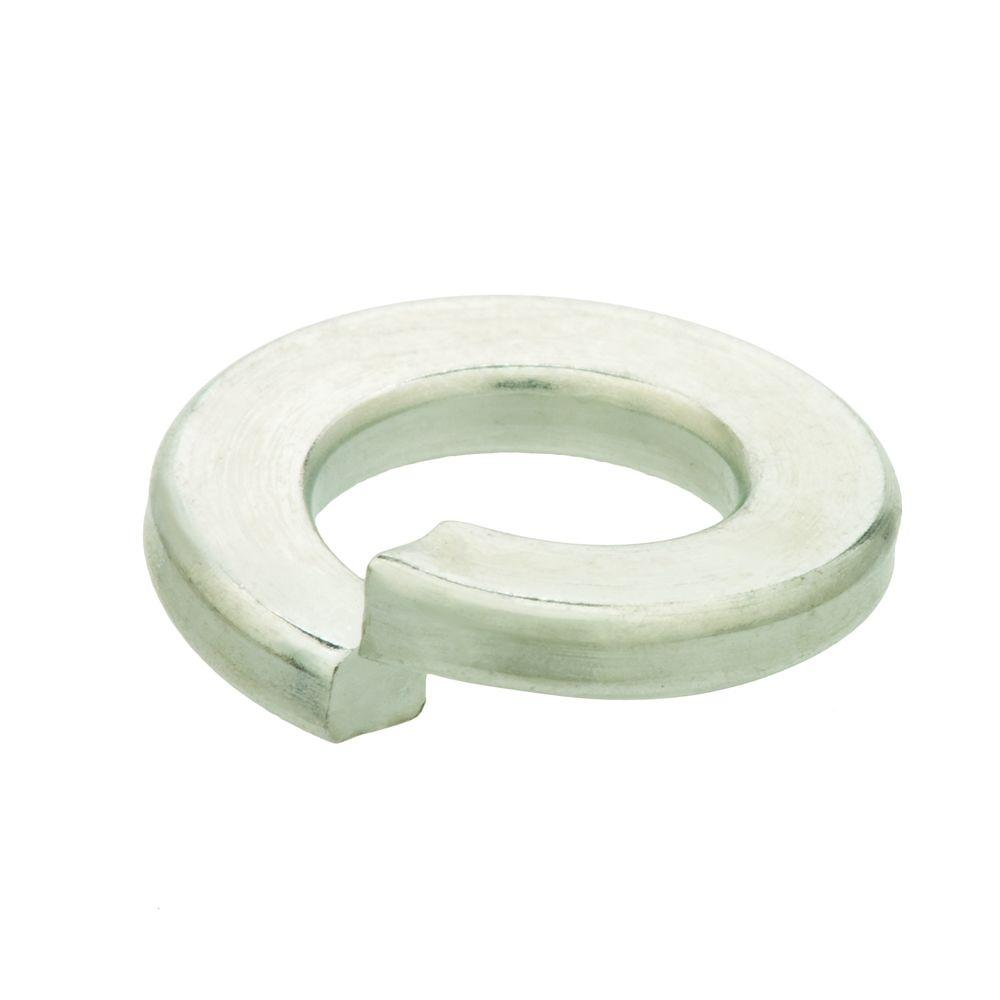Everbilt 1/2 in. Zinc-Plated Split Lock Washer (50 per Pack)-DISCONTINUED