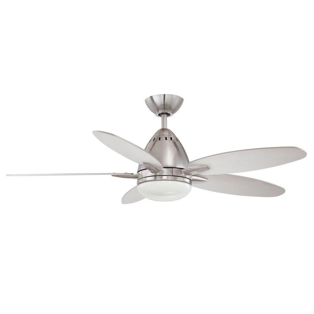 Filament Design Cassiopeia 44 in. Satin Nickel Indoor Ceiling Fan-CLI-KLL1111586