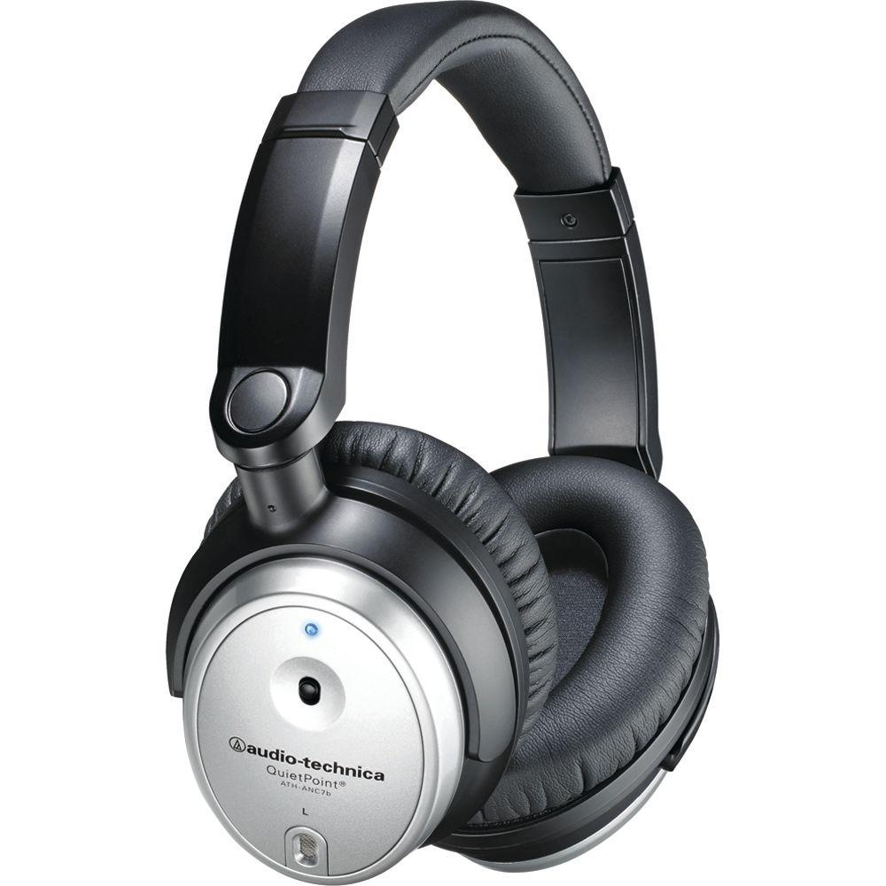 Audio-Technica QuietPoint Active Noise-Cancelling Over-Ear Headphones -