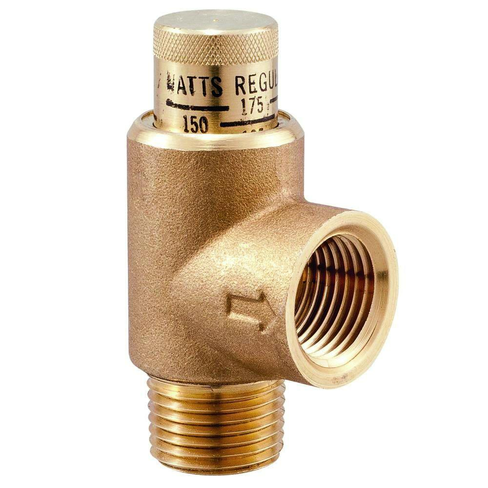 3/4 in. Lead-Free Brass MPT Expansion Relief Valve-LF530C-3/4 - The Home