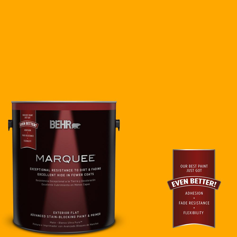 BEHR MARQUEE 1-gal. #S-G-330 Instant Delight Flat Exterior Paint