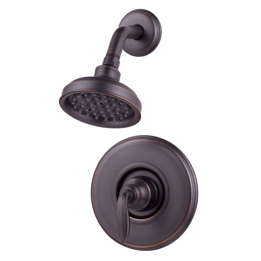 Pfister Avalon Single-Handle Shower Faucet Trim Kit in Tuscan Bronze (Valve Not Included)