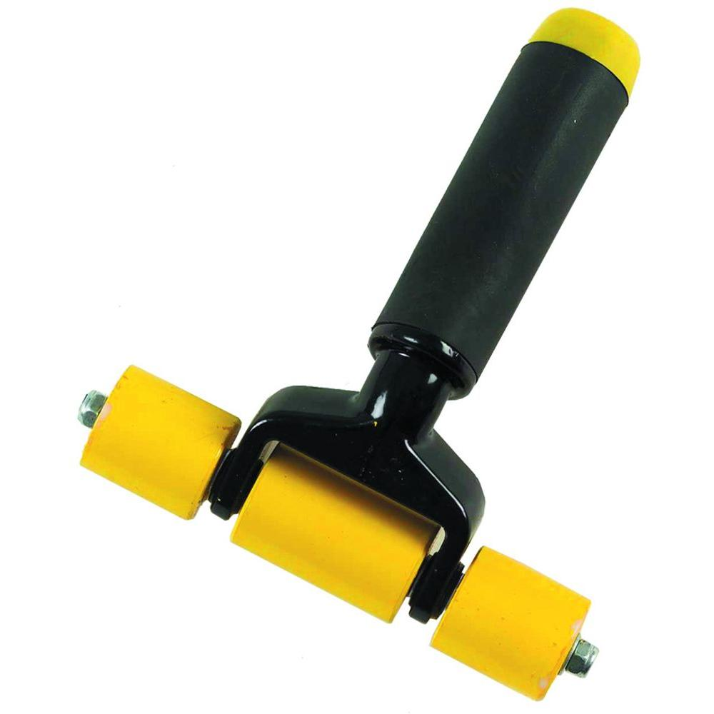 6 in. Smooth Seam Roller for Carpet Installation