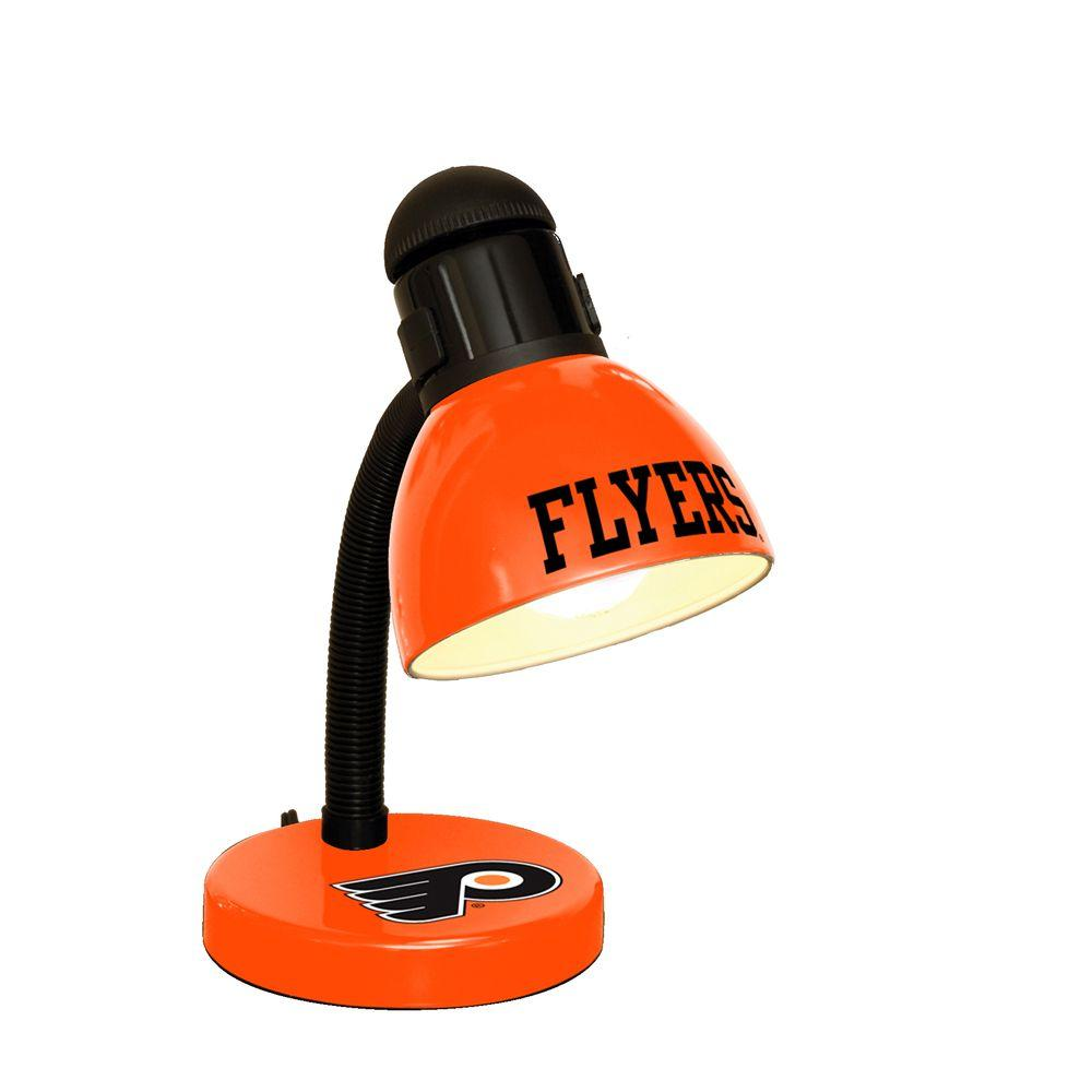 The Memory Company 14.7 in. NHL Desk Lamp - Philadelphia Flyers-DISCONTINUED