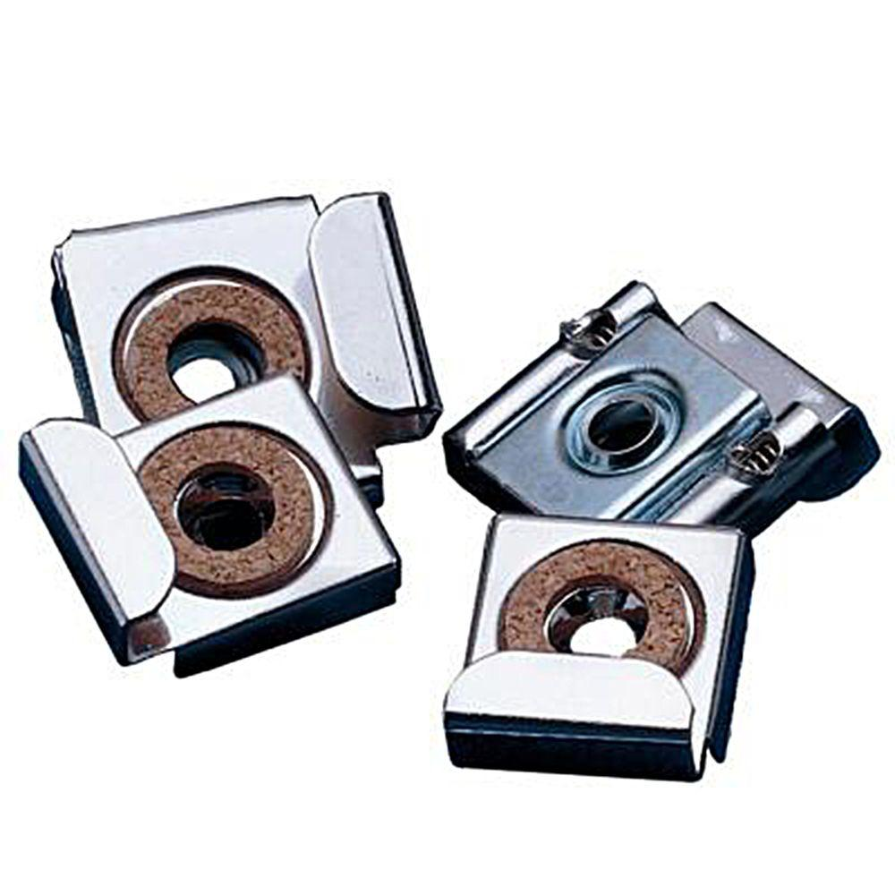Masterpiece Decor Spring Loaded Mirror Mounting Clips (4 ...