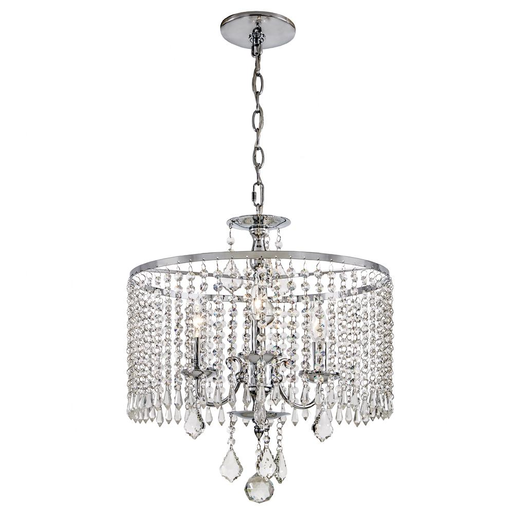 Home Decorators Collection 3 Light Polished Chrome