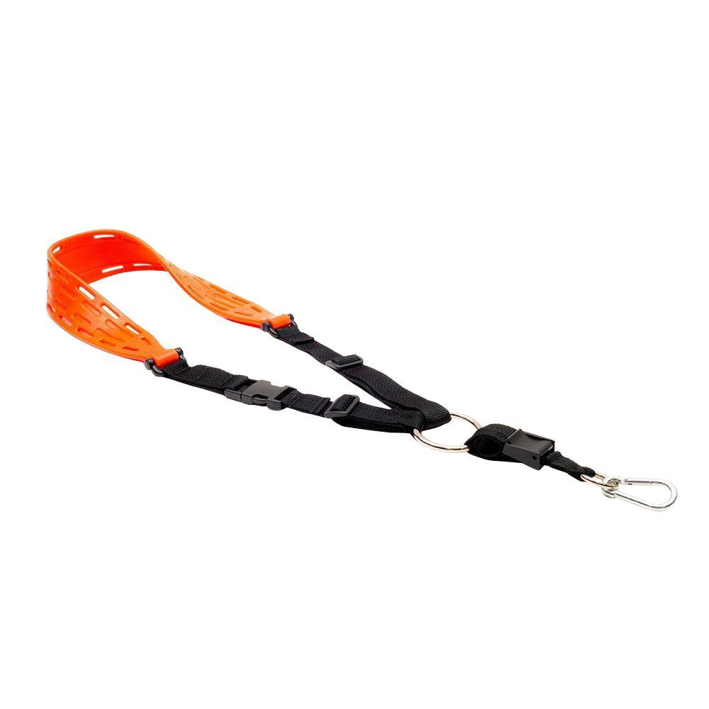 Universal Weed Trimmer and Utility Sling in Orange with Optimum Comfort