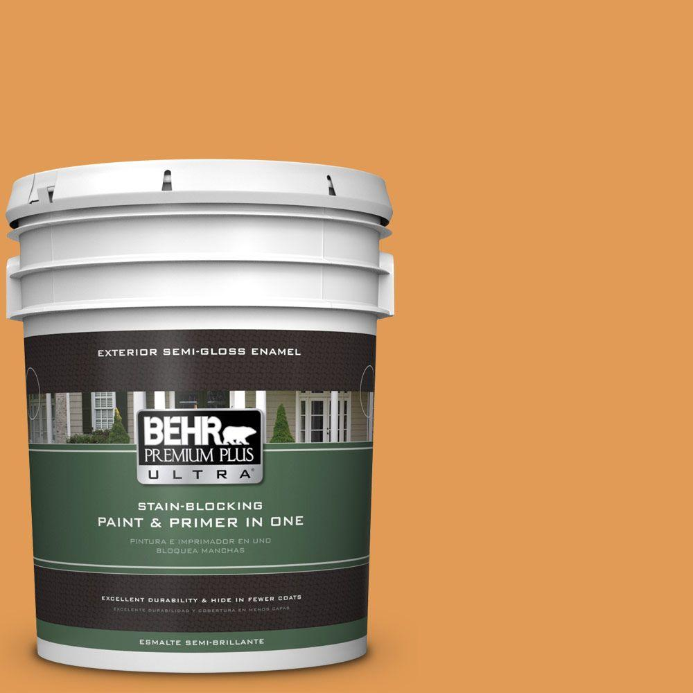 5-gal. #290D-5 Apple Crisp Semi-Gloss Enamel Exterior Paint