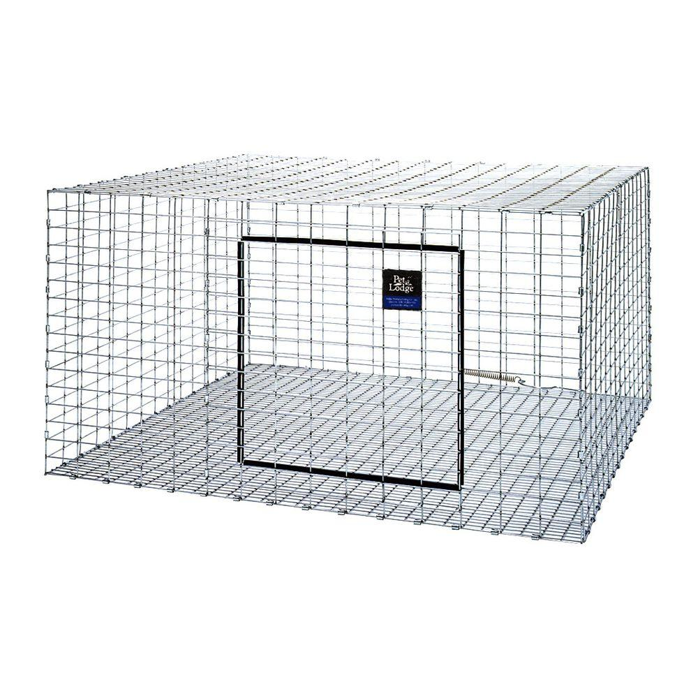 30 in. x 30 in. Metal Rabbit Hutch