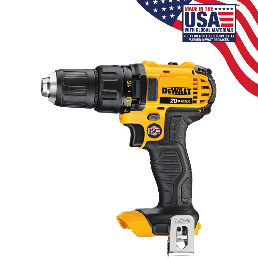 DEWALT 20-Volt MAX Lithium-Ion Cordless Compact Drill/Drill Driver (Tool-Only)