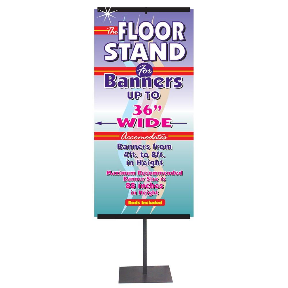 24 in. Wide Telescoping Banner Stand