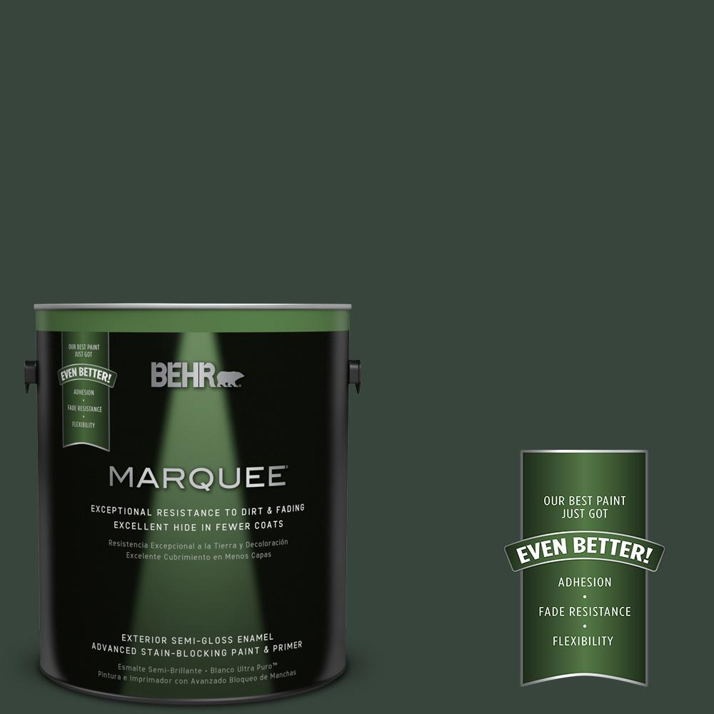 BEHR MARQUEE 1-gal. #PPF-54 Trellised Ivy Semi-Gloss Enamel Exterior Paint