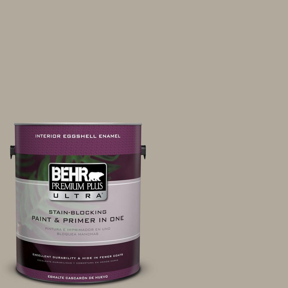 1-gal. #PPF-33 Terrace Taupe Eggshell Enamel Interior Paint