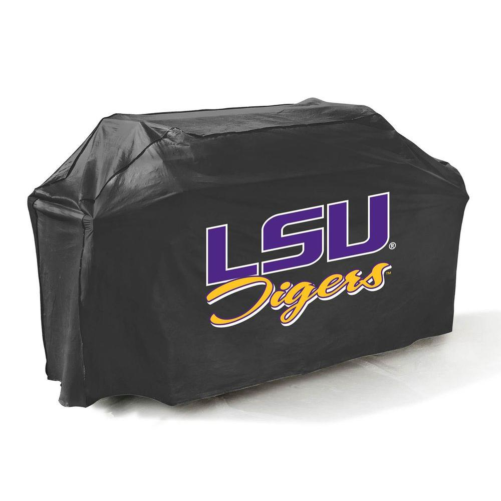 Mr. Bar-B-Q 65 in. NCAA LSU Tigers Grill Cover-DISCONTINUED