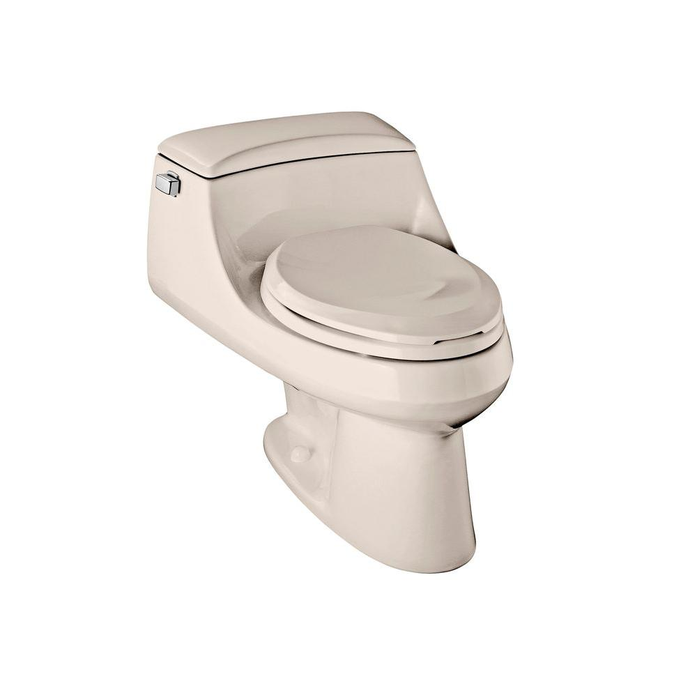 KOHLER San Raphael 1-Piece 1.6 GPF Elongated Toilet in Innocent Blush-DISCONTINUED