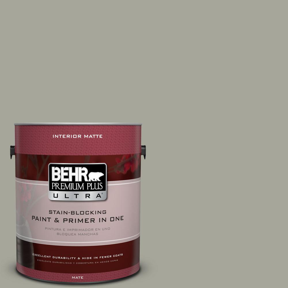 1 gal. #N370-4 Confederate Matte Interior Paint