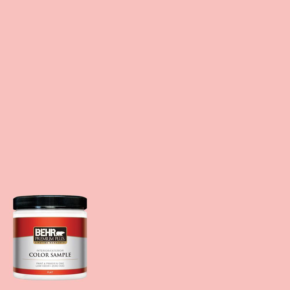 8 oz. #160A-3 Pink Hydrangea Interior/Exterior Paint Sample