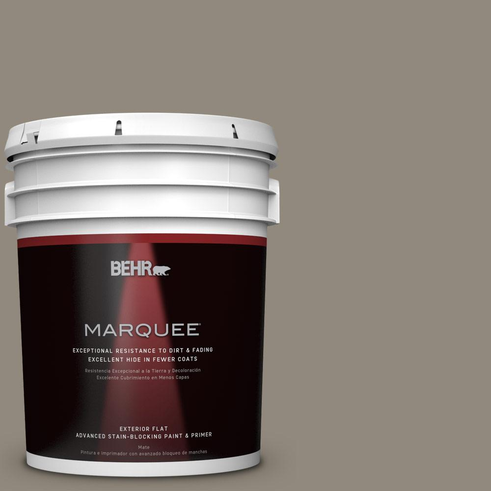 BEHR MARQUEE 5-gal. #PPF-43 Shady Oak Flat Exterior Paint