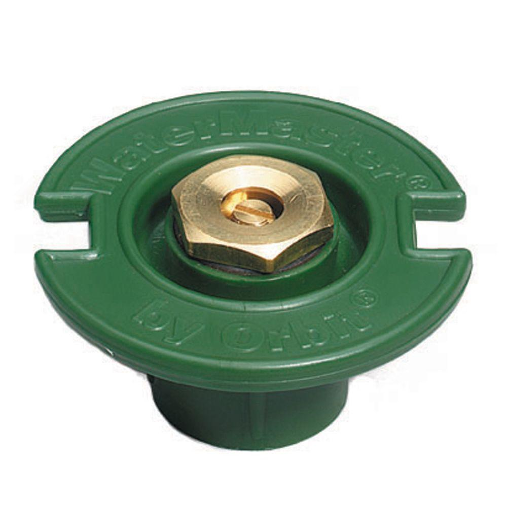 null 1/2 Pattern Plastic Flush with Brass Nozzle