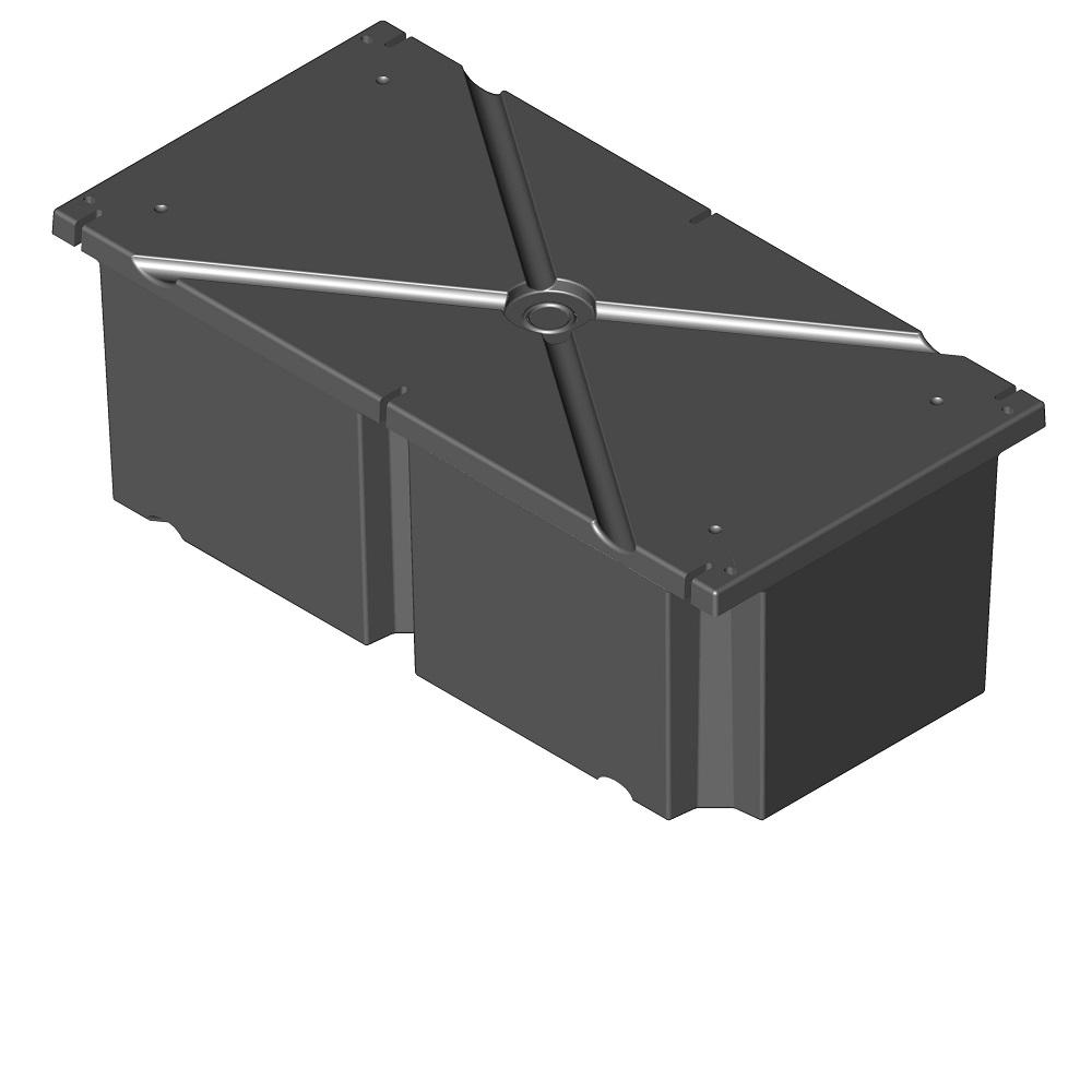 24 in. x 48 in. x 16 in. Dock System Float