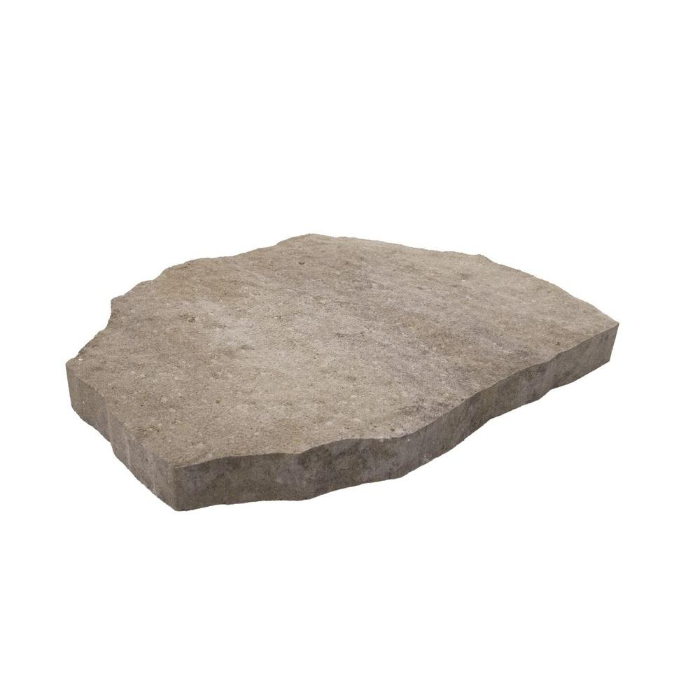 pavestone 24 in. x 24 in. pewter concrete step stone-73700 - the