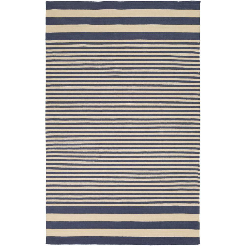 Home Decorators Collection Allure Navy 5 Ft X 8 Ft Area