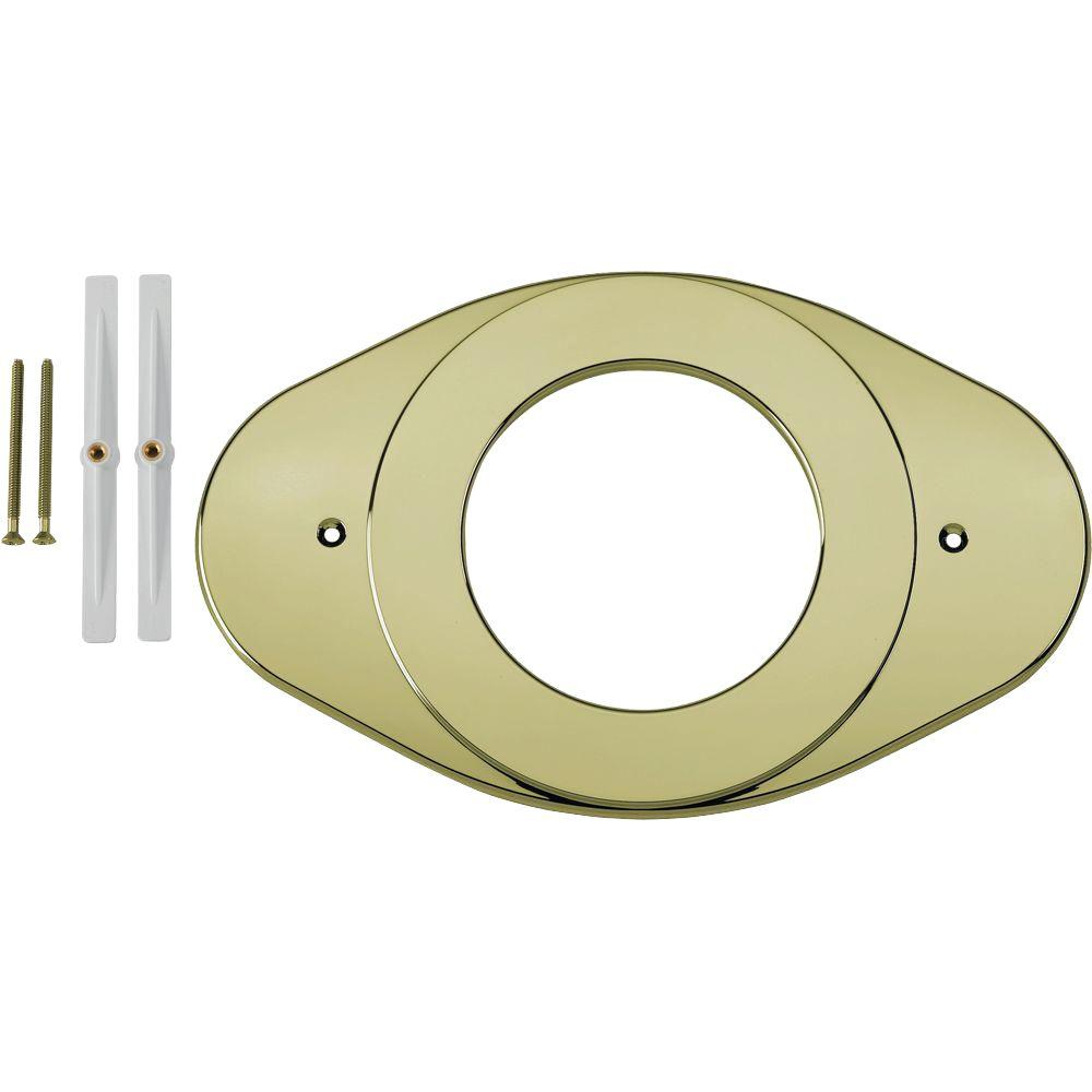 Renovation Cover Plate, Polished Brass