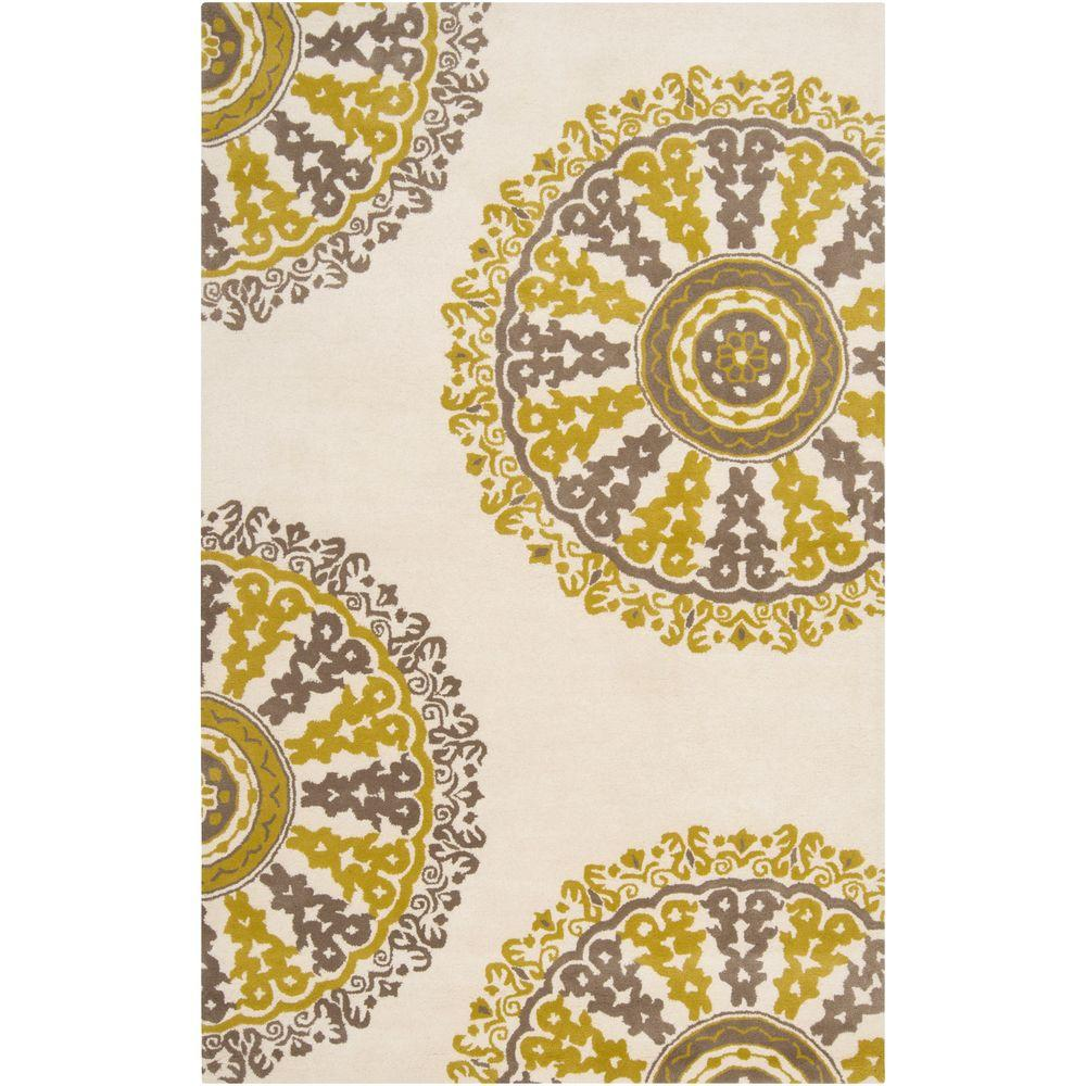 Artistic Weavers Redding Papyrus 3 ft. 3 in. x 5 ft. 3 in. Area Rug