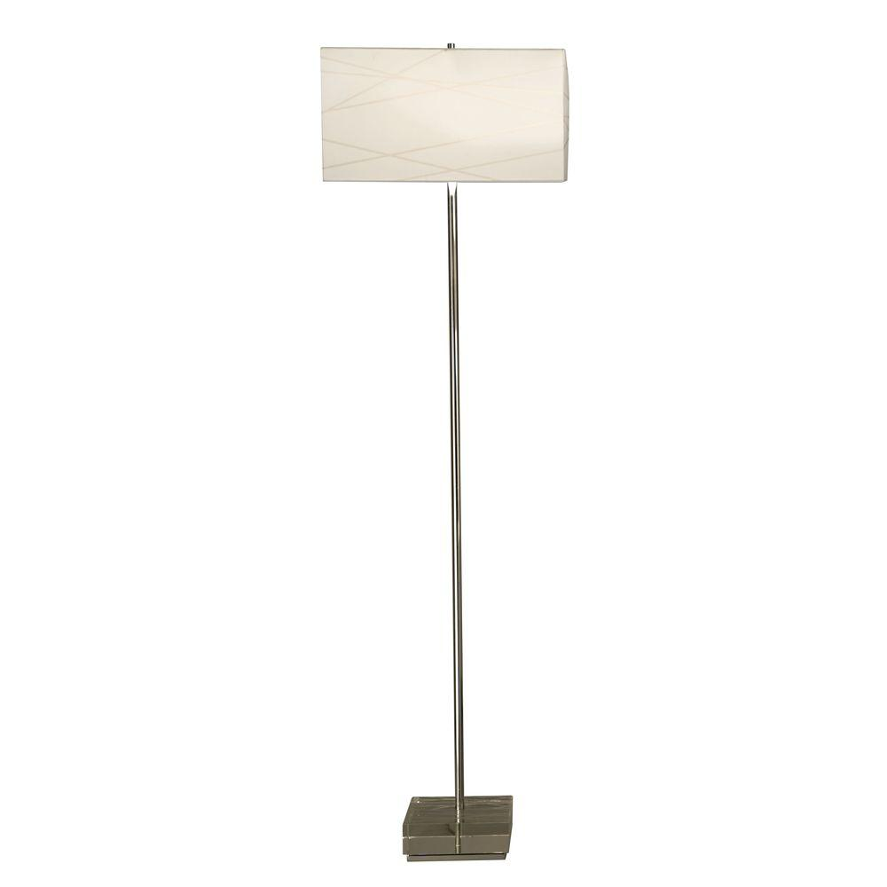 Filament Design Astrulux 62 in. Chrome Incandescent Floor Lamp