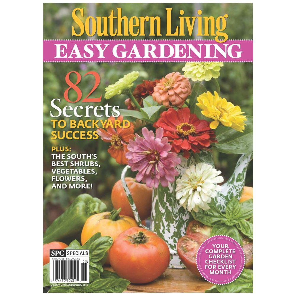 Southern Home Magazine: Southern Living Easy Gardening Magazine-10431
