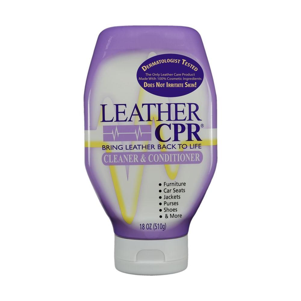 Leather CPR 18 oz. Cleaner and Conditioner-CC-18QCBO - The Home Depot