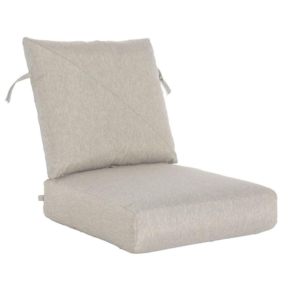 Hampton Bay Marwood Replacement Outdoor Lounge Chair Cushion
