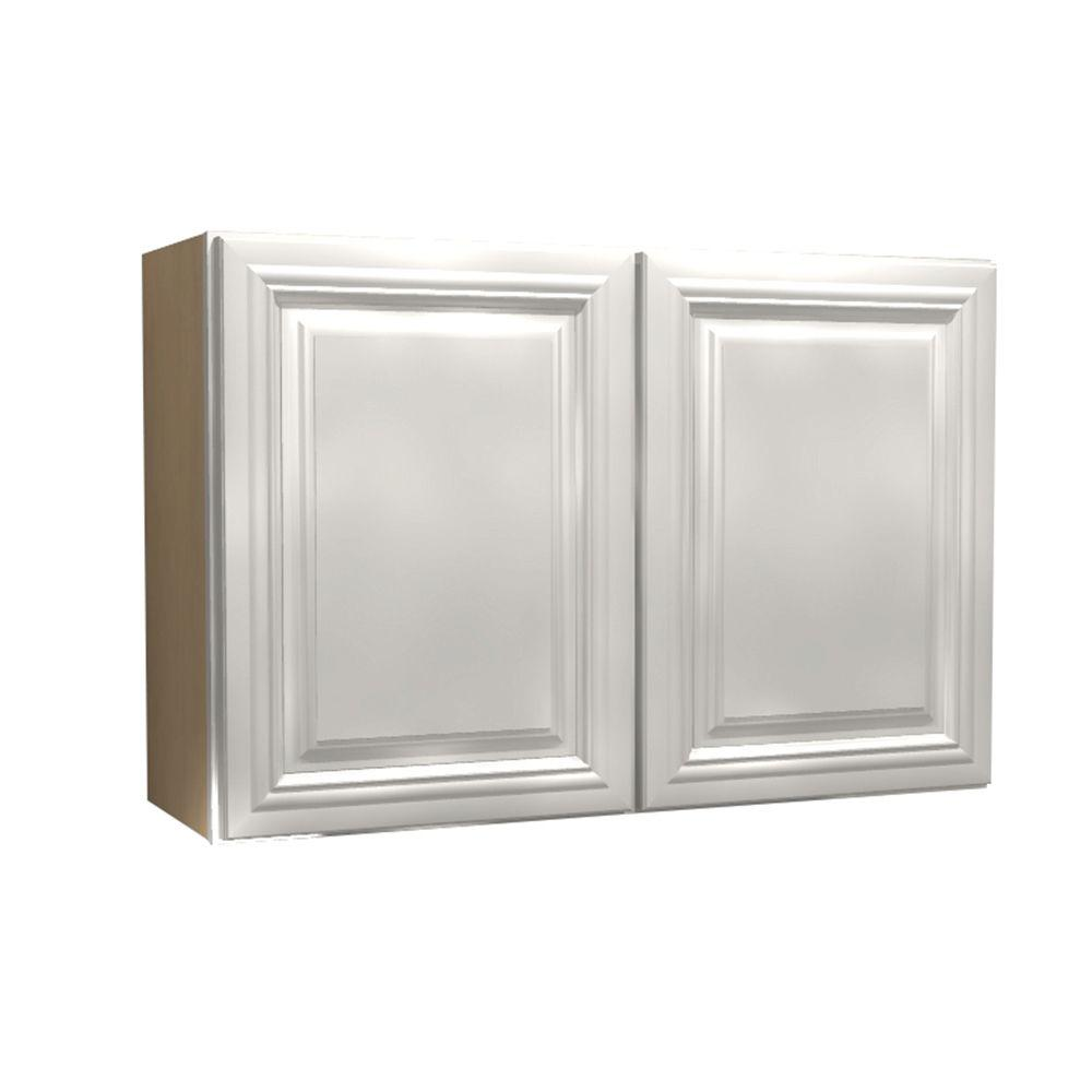 Coventry Assembled 30x24x12 in. Double Door Wall Kitchen Cabinet in Pacific