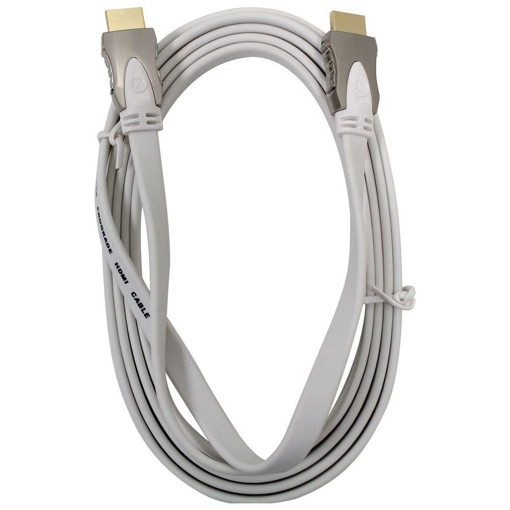 GE Ultra Pro 8 ft. HDMI Cable-87678 - The Home Depot