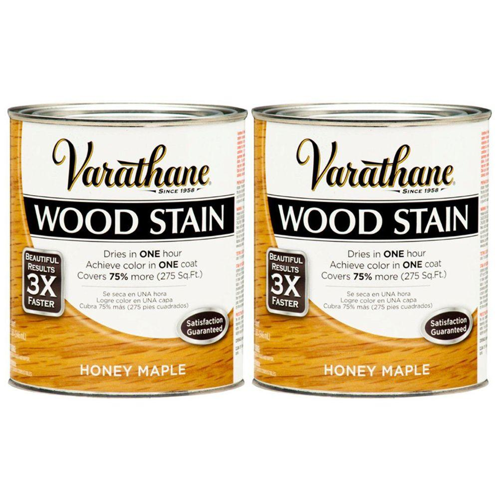 Varathane 1 Qt. Honey Pine Wood Stain (2-Pack)-DISCONTINUED