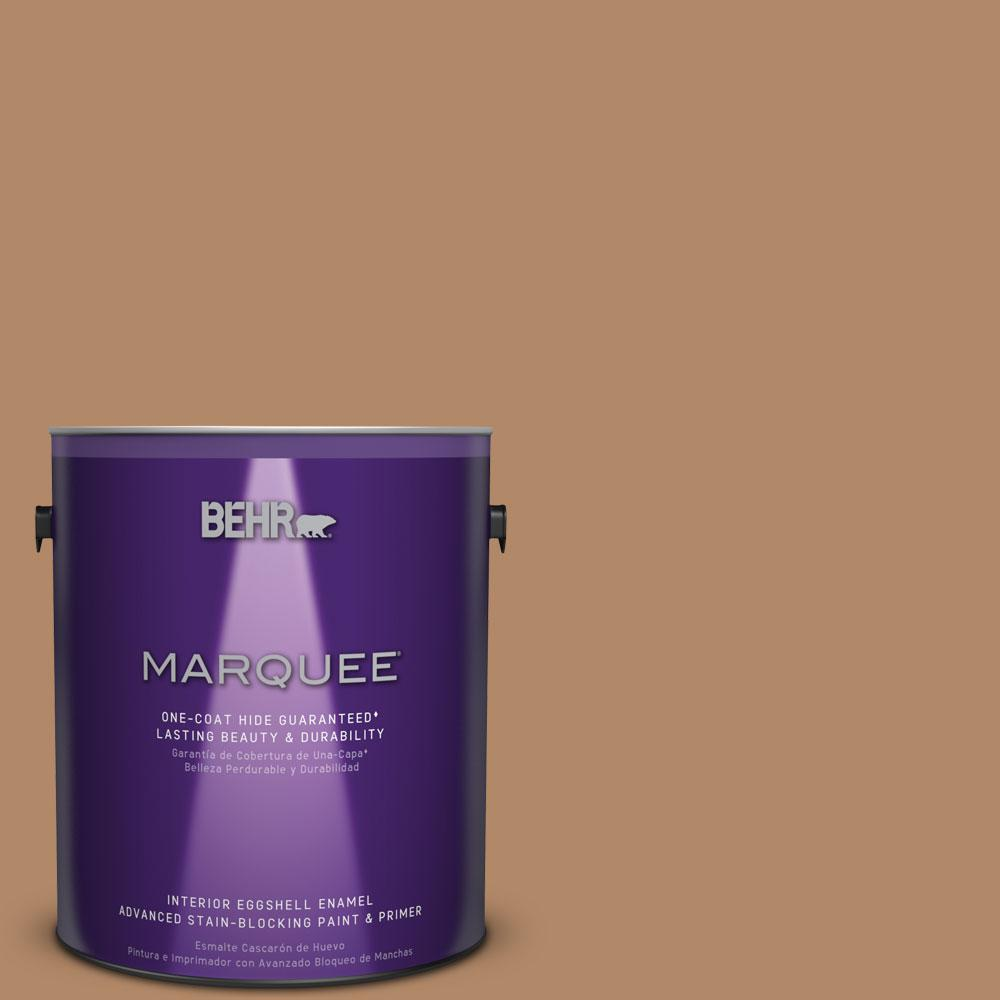 1 gal. #MQ2-2 Syrup One-Coat Hide Eggshell Enamel Interior Paint