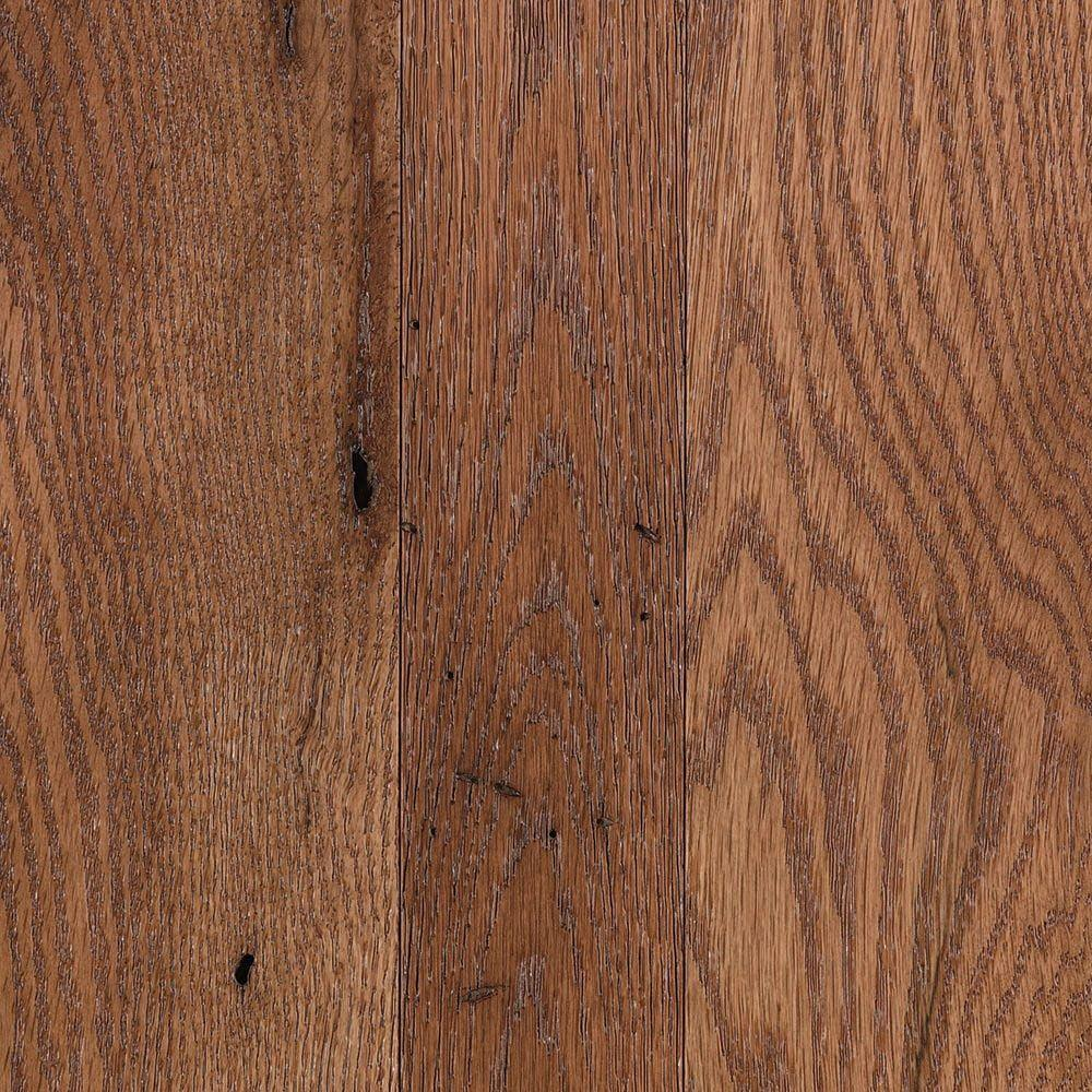 Take Home Sample Franklin Sunkissed Oak 3/4 in. Thick x Multi-Width