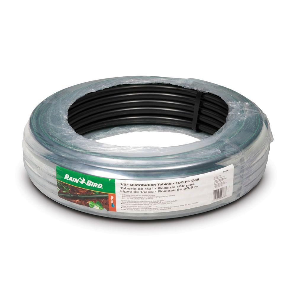 Rain Bird 1/2 in. x 100 ft. Distribution Tubing for Drip Irrigation